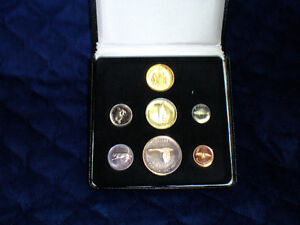1967 PROOF COIN SET WITH GOLD COIN