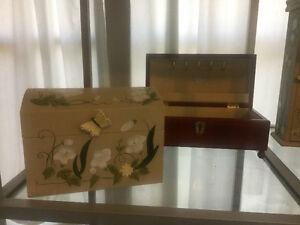 Solid wood jewellery boxes Kitchener / Waterloo Kitchener Area image 6