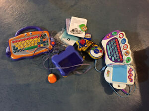 2 Electronic Educational (pre school) toys - $10