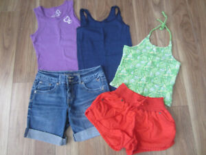 GIRLS SUMMER CLOTHES - SIZE 10 & SIZE 10/12 - $15.00 for LOT