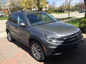 2013 Volkswagen Tiguan Comfortline: Low KM's $ negotiable