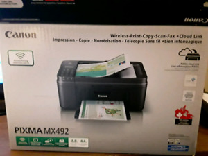 Canon wireless , print, copy, scan, fax + cloud link.