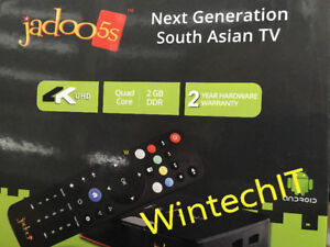 Jadoo TV 5-S * 2 years Warranty * With Android Box & lot more