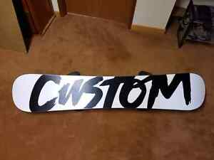 Brand new never used Burton snowboard for sale
