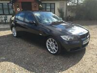 2006 56 BMW 320 2.0D SE Black *FSH, 6 speed, alloys*