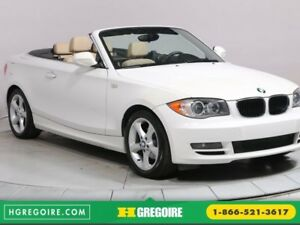 2011 BMW 128I 128i AUTO CONVERTIBLE A/C BLUETOOTH GR ELECT MAGS