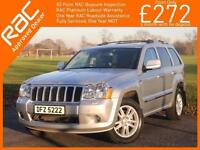 2010 Jeep Grand Cherokee 3.0 CRD Turbo Diesel Overland 4x4 4WD Auto Rear DVD Sun