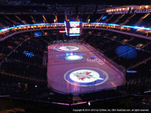 FOR SALE - 2 Tix Sec 314 Row 6 Gm5 Sunday 2pm Jets vs Knights