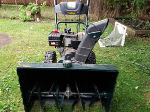 "27"" yardworks snowblower 8.5hp"