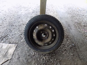 Winter Tires on Rims 195/55R15