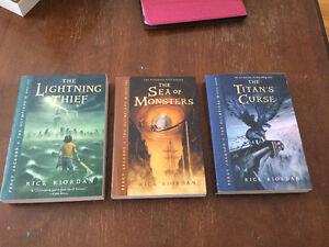 The Lightning Thief Series - Books 1-3 Rick Riordan