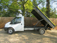 Ford Transit 2.4TDCi Duratorq ( 100PS ) 350M TIPPER TRUCK...CHOICE OF TWO