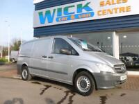 2014 Mercedes-Benz VITO 113 CDI SWB LONG 130ps Van *SILVER* Manual Medium Van