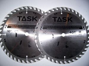 TWO NEW 10 IN SAW BLADES