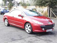 Peugeot 307 Convertable, Red 2006 Sport,55 000 Miles, 6 Months AA Warranty