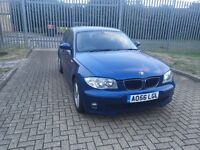 BMW 1 SERIES 2006 Blue - Mileage: 99,500 - SALVAGE (REPAIR / SPARE) - UNRECORDED