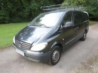 Mercedes-Benz Vito 111 CDI LONG LWB 54 REG 64K NO VAT PLEASE READ ADVERT IN FULL