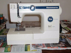 Sewing machine a coudre Kenmore 10 points