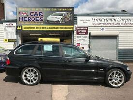 2001 BMW 330 3.0i AUTO SE TOURING ESTATE SPORTS 230 BHP (AA) WARRANTY INCLUDED
