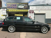 2001 BMW 330 3.0i AUTO SE TOURING ESTATE SPORTS 230 BHP (AA) WARRANTY INCLUDED