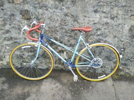 Ladies vintage Raleigh road bike