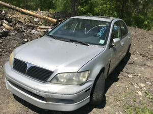 2003 Mitsubishi Lancer ** FOR PARTS ** INSIDE & OUTSIDE **