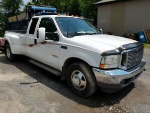 ford f350 Lariat double wheel diesel