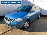 2006 06 Volkswagen Polo 1.2 S Blue Petrol Manual 5 Door