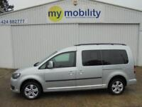 Volkswagen Caddy Maxi AUTOMATIC Wheelchair Scooter Accessible Car WAV