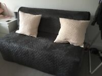 Ikea Lycksele Lovas two seater sofa bed