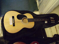 Electric and Acoustic Guitar