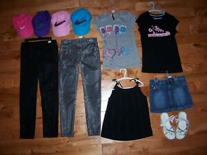 vêtements fille 10ans - 12 ans SUPER PROPRE!!!!
