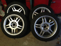 "AMG 17"" mag with Michelin"