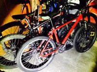 Carrera and giant mountain bikes for sale