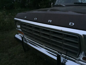 1978 F-350 Ford camper special