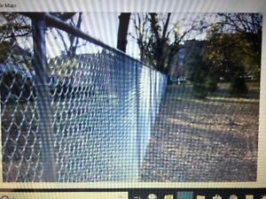 """WANTED:  500 Feet of 48"""" Chain Link Fencing"""