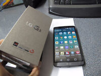 UNLOCKED LG G3 32GB,3 MONTH OLD, 5.5 INCHES SCREEN....