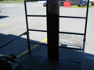 "motor cycle low trailer  9 ft by 45"" drop ramp with channel &4x4 Kingston Kingston Area image 4"