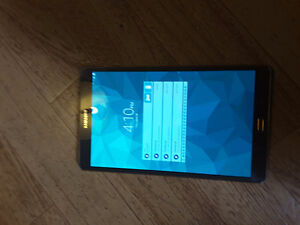 Galaxy tab s 8.1 perfect condition..