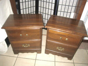 Wood 2 Night Stands in good condition
