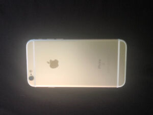 iphone 6s 64gb Gold  Perfect condition, unlocked by Bell.  Glass