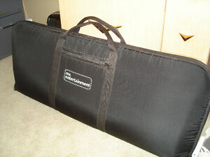 KEYBOARD STAND AND PADDED CARRYING CASE