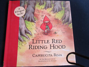 A Spanish Bilinqual Book - Little Red Riding Hood. Very cute