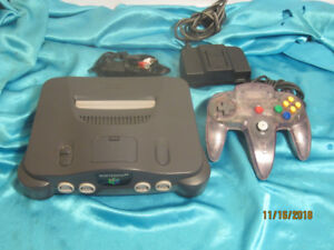 N64 Console with Genuine Controller