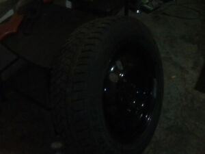 185 65r14 winter tires on 4 bolt steel rims