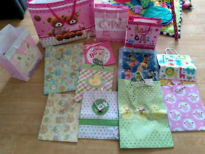 Gift bags (baby shower)