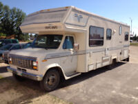 1990 Ford Vanguard Motorhome 29 ft. Must Sell Quckly!
