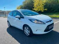 2012 FORD FIESTA 1.25 STYLE 73,000 MILES JUST SERVICED SERVICE HISTORY WHITE!!