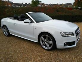 2011 Audi A5 2.0TDI, 6-Speed Man Convertible (170ps) S Line Full Service History