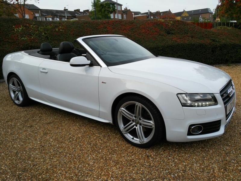 Audi A TDI Speed Man Convertible Ps S Line Full - Audi a5 convertible